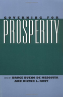 Governing Prosperity book cover